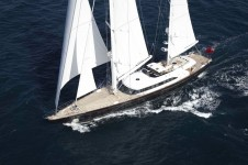 Perini Navi Sailing yacht Panthalassa -  Main